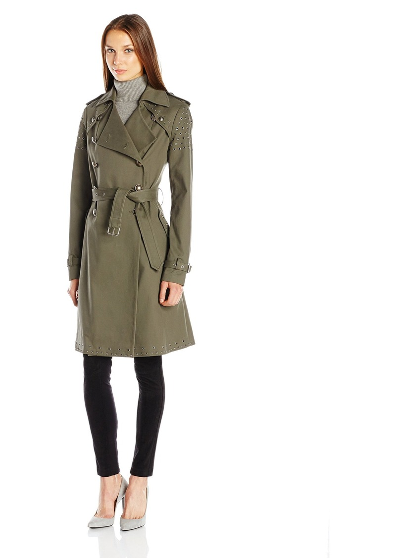 Rebecca Minkoff Women's Amis Coat with Eyelets