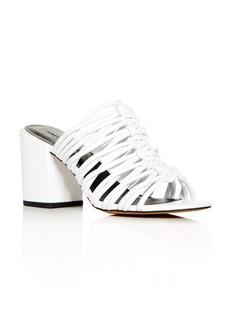 Rebecca Minkoff Women's Calanthe Block-Heel Slide Sandals