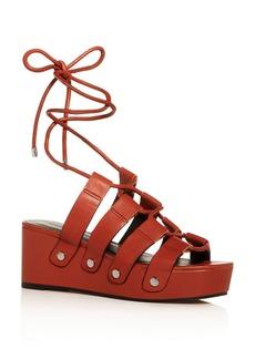 Rebecca Minkoff Women's Iven Platform Wedge Sandals