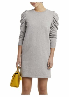 Rebecca Minkoff Women's Janine Long Sleeve Knit Dress  Extra Small
