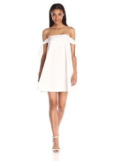 Rebecca Minkoff Women's Mackenzie Dress chalk