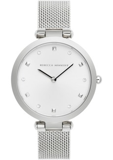 Rebecca Minkoff Women's Nina Stainless Steel Mesh Bracelet Watch 33mm