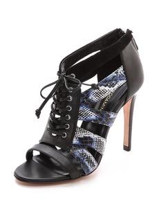 Rebecca Minkoff Women's Reed Cutout Sandals   B(M) US