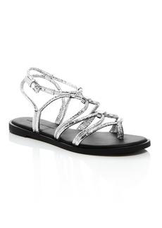 Rebecca Minkoff Women's Sarle Strappy Thong Sandals