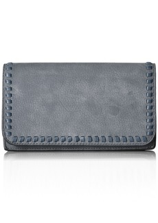 Rebecca Minkoff Women's Vanity Flat Phone Wallet DUSTY BLUE