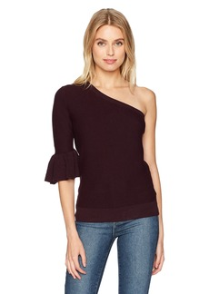 Rebecca Minkoff Women's Wappo Top deep Wine XS