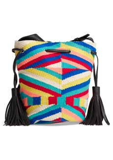 Rebecca Minkoff Wonderland Tassel Bucket Bag