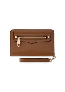 Rebecca Minkoff Regan Leather Phone Wristlet