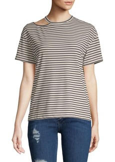 Rebecca Minkoff Robie Striped Knit Tee