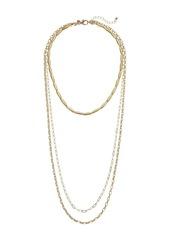Rebecca Minkoff Sadie Strands Layering Necklace