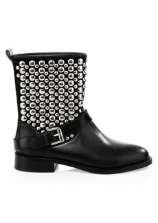 Rebecca Minkoff Saida Moto Leather Boots