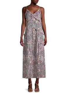 Rebecca Minkoff Sasha Floral Midi Dress