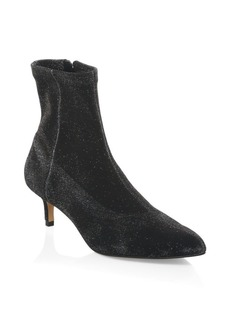 Rebecca Minkoff Sayres Glitter Sock Boots