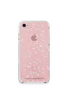 Rebecca Minkoff Scattered Suns Holographic Foil Double Up iPhone 7 Case