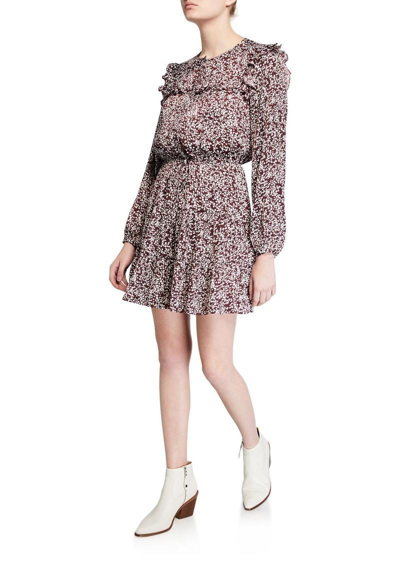 Rebecca Minkoff Selandra Long-Sleeve Dress