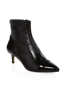 Rebecca Minkoff Siya Kitten Heel Leather Booties