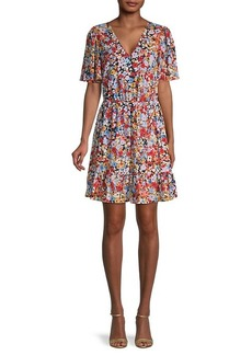 Rebecca Minkoff Sorcha Floral Blouson Dress