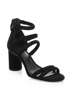 Rebecca Minkoff Strappy Suede Sandals