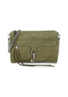 Rebecca Minkoff Suede Chain Crossbody Bag