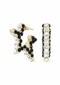 Rebecca Minkoff Super Nova Stone Hoops Earrings