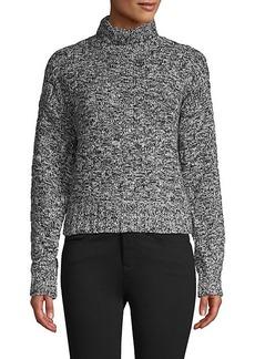 Rebecca Minkoff Turtleneck Cotton-Blend Sweater