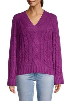 Rebecca Minkoff V-Neck Pullover Sweater