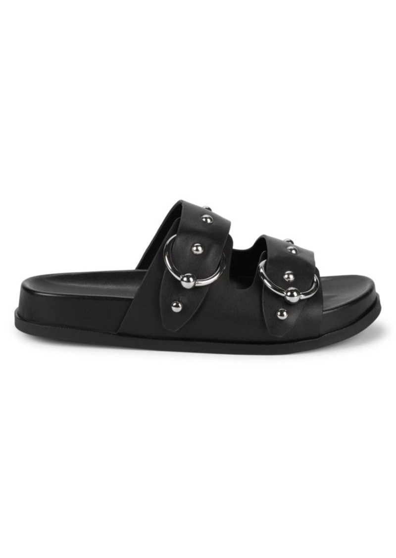 Rebecca Minkoff Vachel Studded Leather Slides