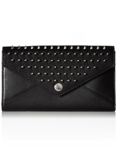 Rebecca Minkoff WALLET ON A CHAIN WITH STUDS BLACK