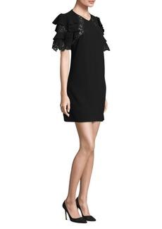 Rebecca Taylor A-Line Crepe Dress