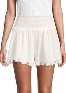 Rebecca Taylor Amora Embroidered Shorts