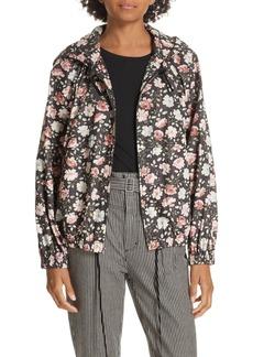 Rebecca Taylor Ariane Rose Hooded Jacket