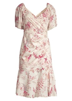 Rebecca Taylor Averie Floral Sheath Dress