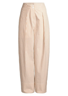 Rebecca Taylor Bengal Striped Tapered Pants