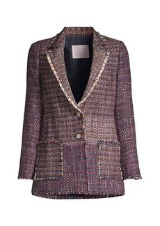 Rebecca Taylor Blanket Tweed Jacket