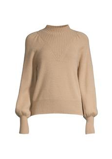 Rebecca Taylor Cashmere Mockneck Pullover Sweater