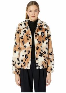 Rebecca Taylor Cheetah Faux Fur Coat