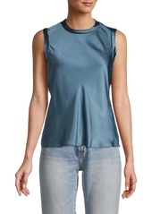 Rebecca Taylor Chemise Silk Shell Top