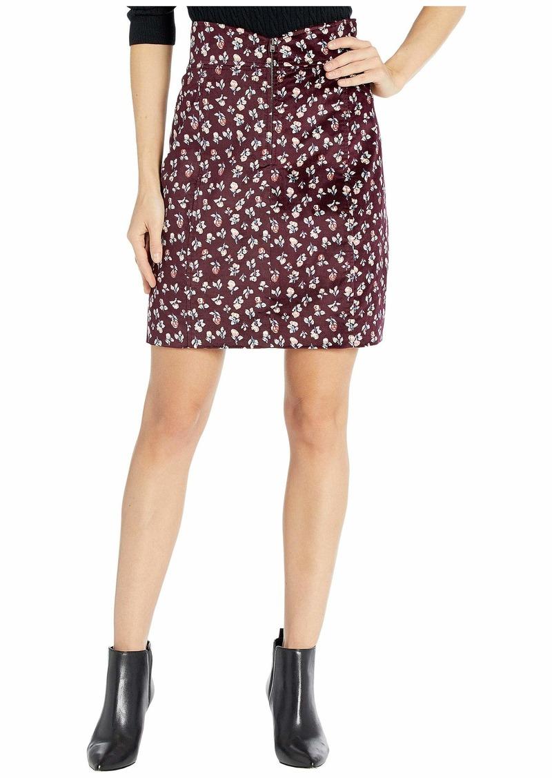 Rebecca Taylor Cherise Velvet Skirt