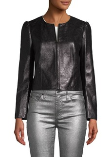Rebecca Taylor Classic Leather Jacket