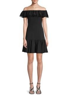 Rebecca Taylor Classic Off-the-Shoulder Dress