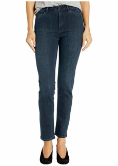 Rebecca Taylor Clemence Ankle Denim in Blackened Indigo