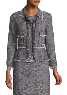 Rebecca Taylor Confetti-Tweed Jacket