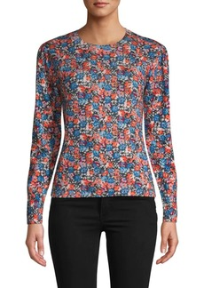 Rebecca Taylor Cosmic Fleur Wool Sweater