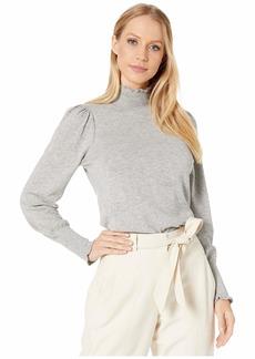 Rebecca Taylor Cozy Cotton Turtleneck Pullover