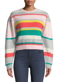 Rebecca Taylor Cropped Pullover Sweater