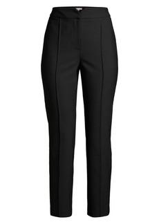 Rebecca Taylor Cropped Virgin-Wool Blend Suit Pants