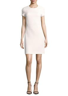 Rebecca Taylor Dia Embossed Sheath Dress