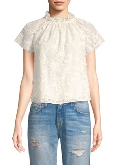 Rebecca Taylor Ellie Embroidered Blouse