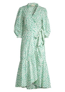 Rebecca Taylor Emerald Daisy Dress