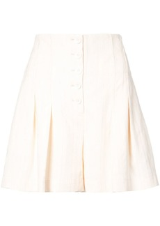 Rebecca Taylor flared tailored shorts